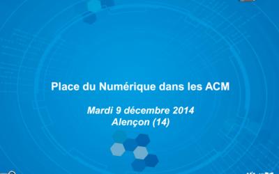 La place du Numérique dans les ACM