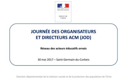 Journée des organisateurs et directeurs ACM