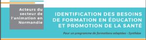 Besoins de formation en éducation à la santé en ACM – synthèse de l'enquête réalisée par l'IREPS